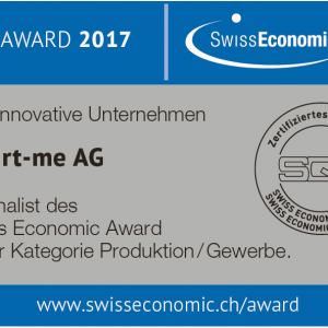 smart-me ist SEF Award Finalist 2017