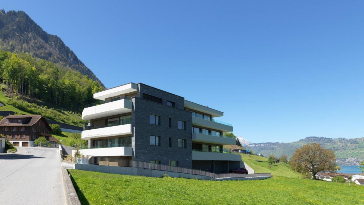 MFH Oberbächli – Beispiel für einen Zusammenschluss zum Eigenverbrauch (ZEV)