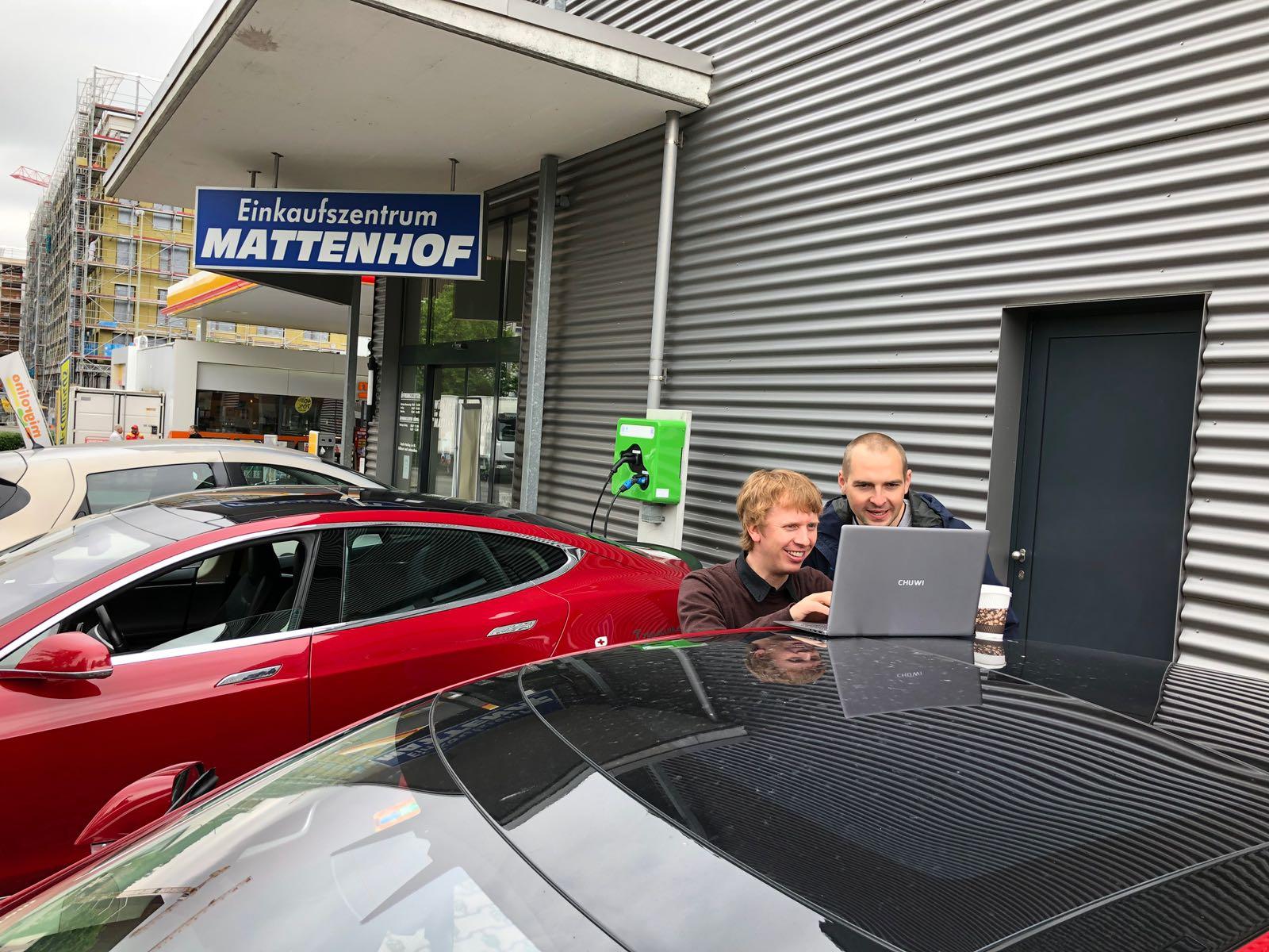 Rotkreuz 2018: Testing des Lastmanagements von eCarUp
