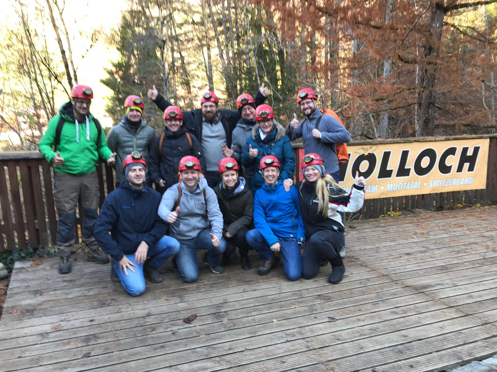 Hölloch 2018: Teamausflug smart-me