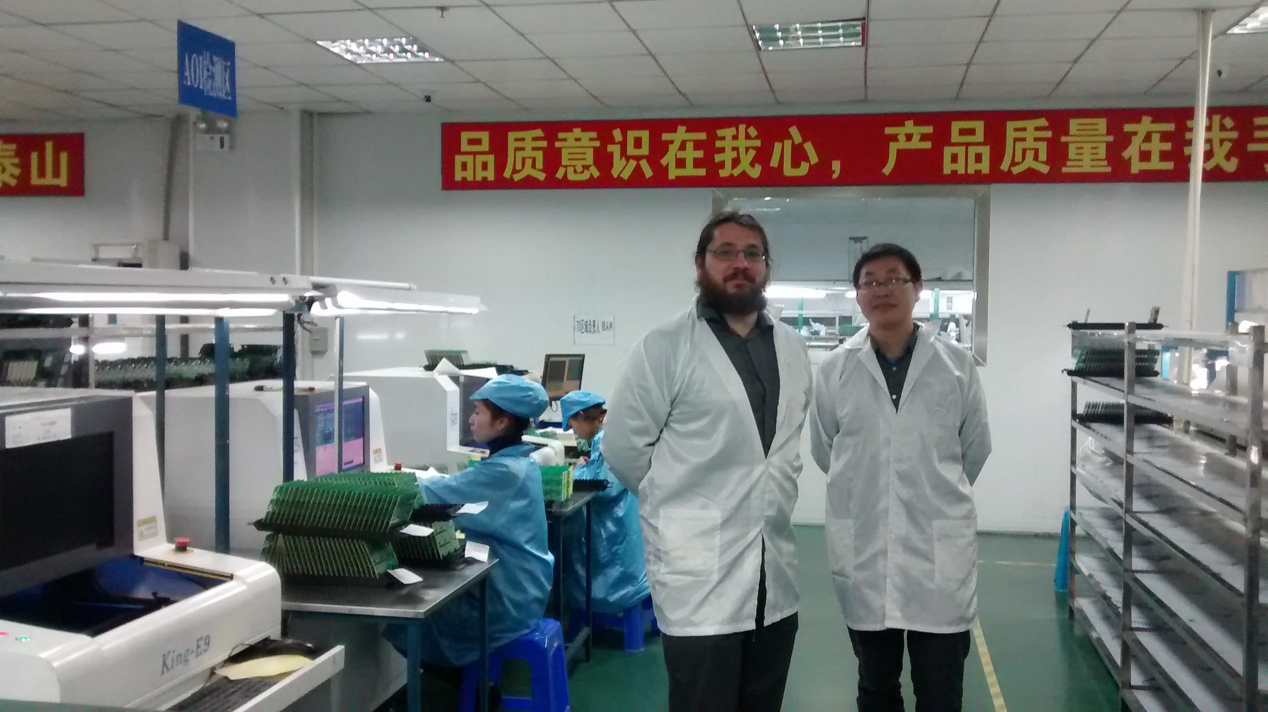 mart-me besucht Produktion in China