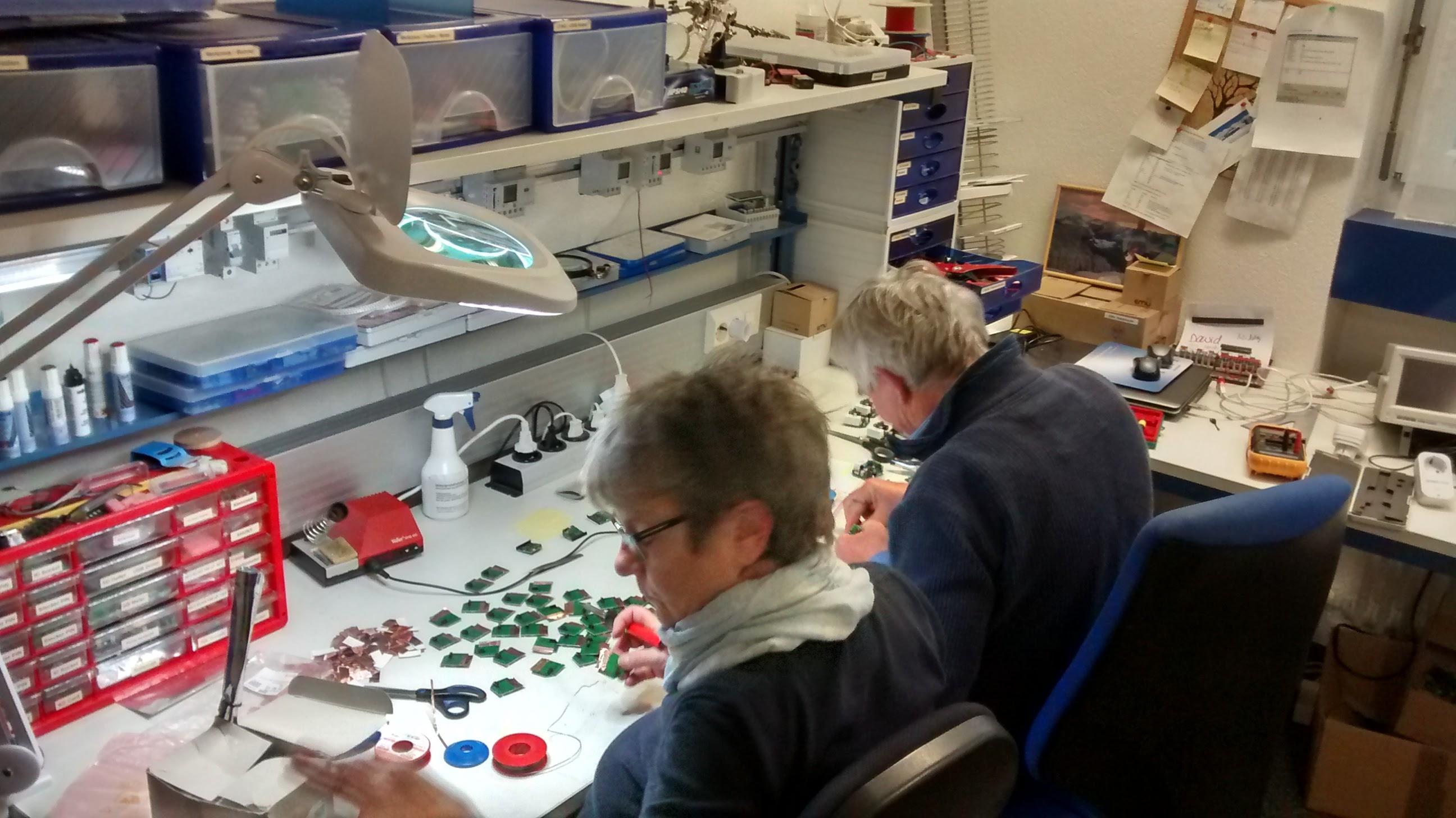 Produktion der smart-me Plugs in Rickenbach