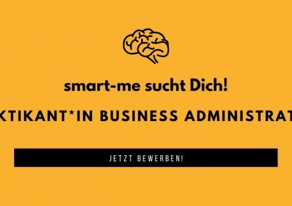Praktikum Bereich Business Administration (100%)