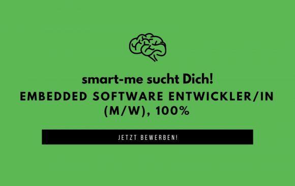 Gesucht: Embedded Software Entwickler*in (m/w), 80-100%