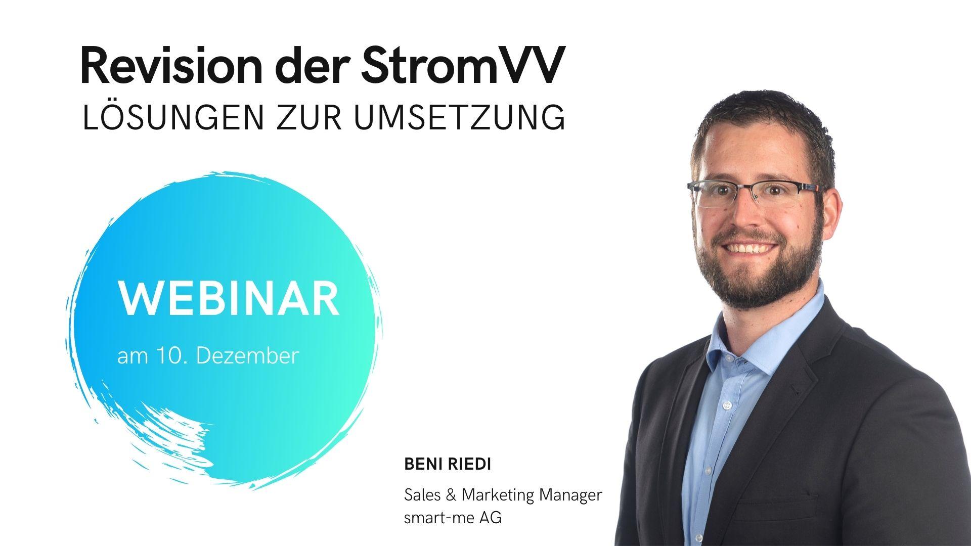 Webinar StromVV 10. Dezember