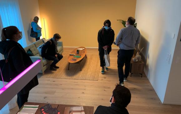 Smart Home erleben im Smart Home Competence Center