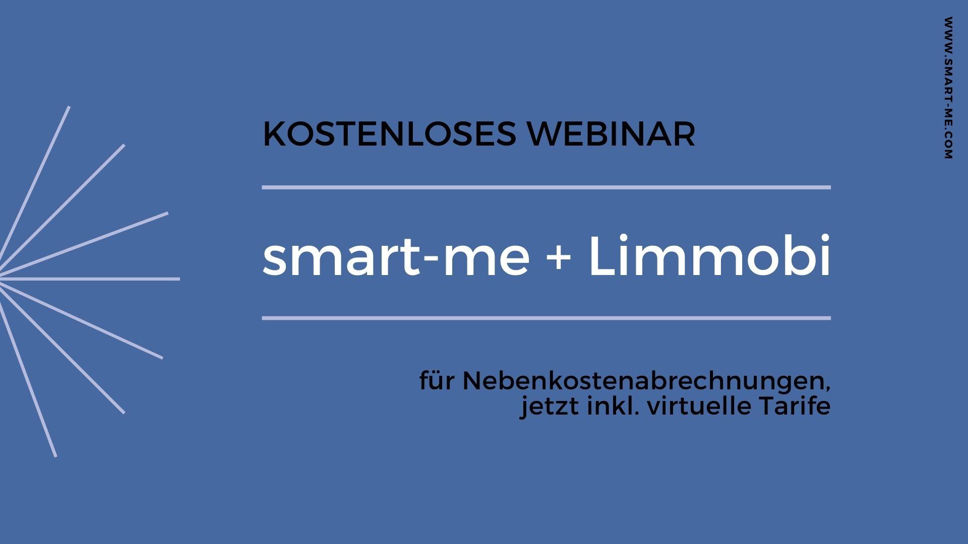 Webinar Nebenkostenabrechnung LIMMOBI