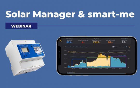 Solar Manager und smart-me
