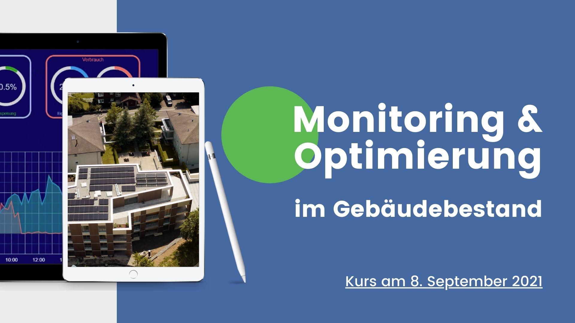 Monitoring und Optimierung im Gebäudebestand