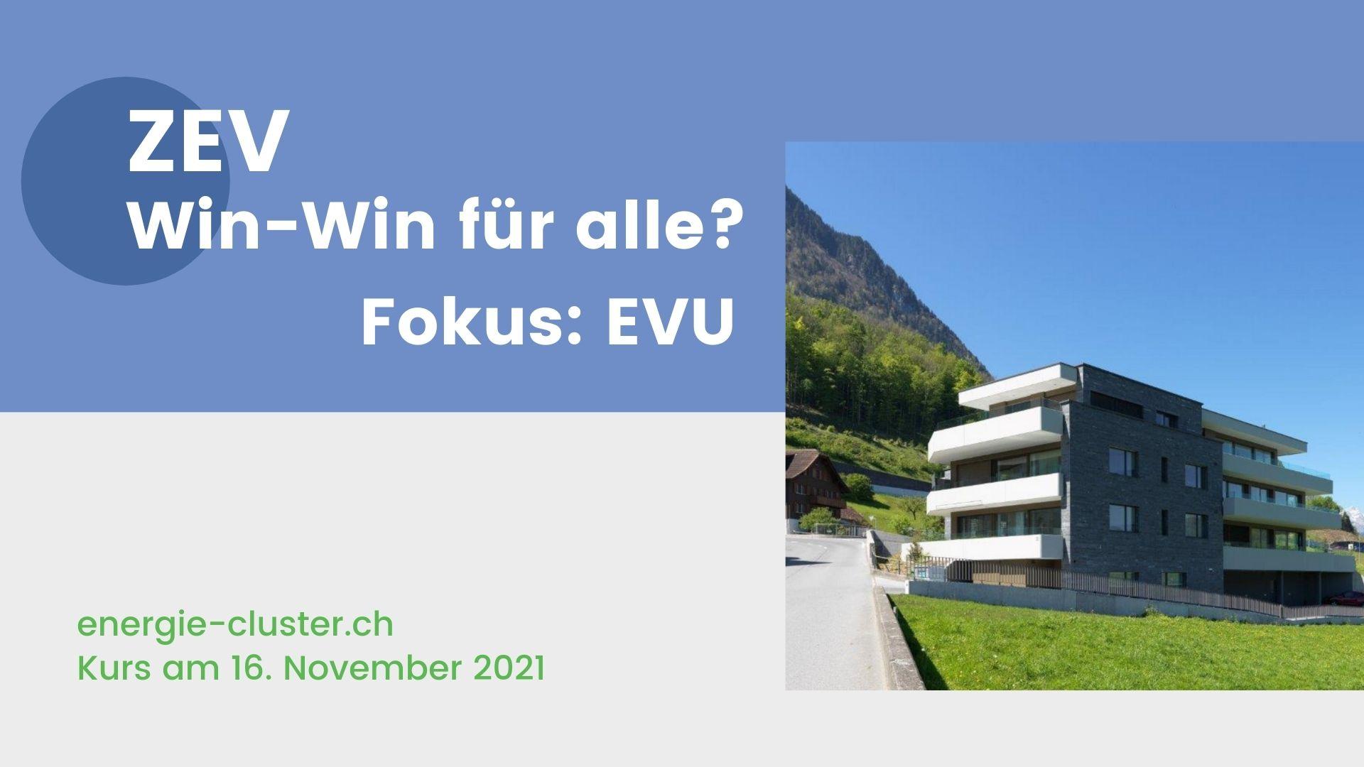 energiecluster ZEV für EVU