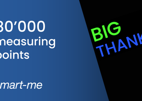 80'000 Messpunkte in der Cloud
